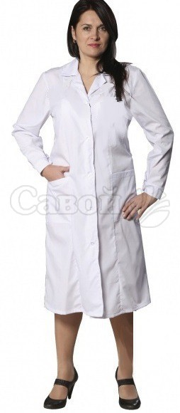f2f04a80c687 Белый медицинский халат купить в Екатеринбурге дешево